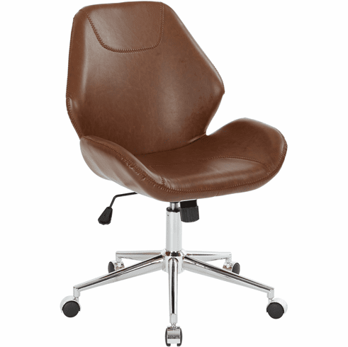 Office Star Ave Six Chatsworth Office Chair Saddle [SB546SA-DU41]