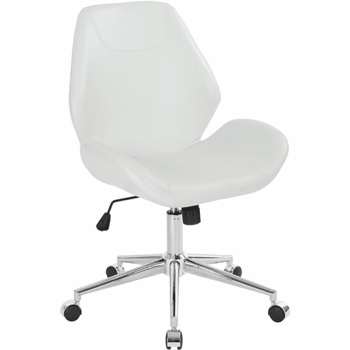 Office Star Ave Six Chatsworth Office Chair White [SB546SA-DU11]