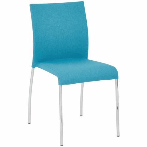 Office Star Ave Six Conway Stacking Chair Aqua Set of 2CWYAS2-CK007]