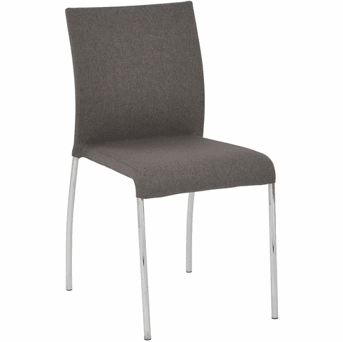 Office Star Ave Six Conway Stacking Chair Smoke Set of 2CWYAS2-CK002]