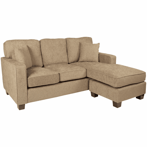 Office Star Ave Six Russell Sectional Earth [RSL55-SK334]