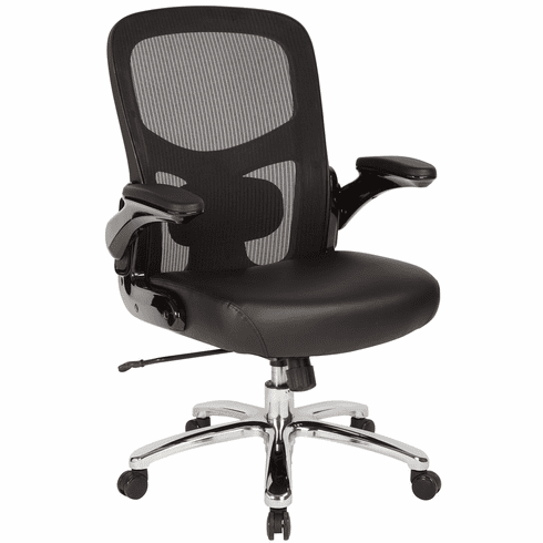 Amazing Office Star Pro Line Ii Big And Tall Mesh Back Chair 69220C Ec3 Ocoug Best Dining Table And Chair Ideas Images Ocougorg