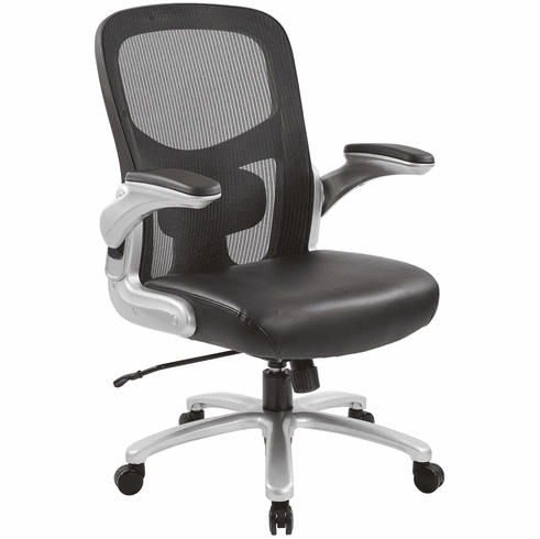 Office Star Pro-Line II™ Big and Tall Mesh Back Chair [69226-EC3]