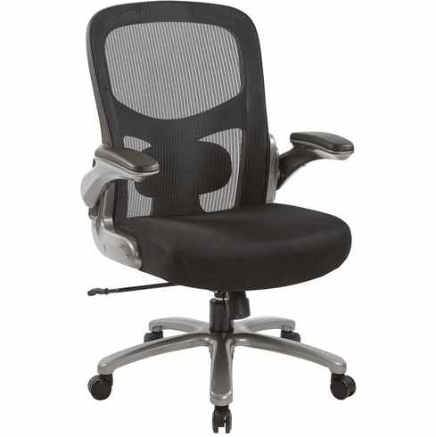 Office Star Pro-Line II™ Big and Tall Mesh Back Chair [69227-3M]