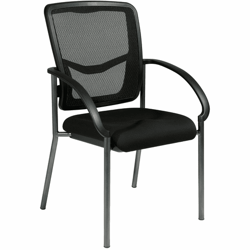 Office Star Pro-Line II™ ProGrid® Back Visitors Chair with Arms [85670-30]