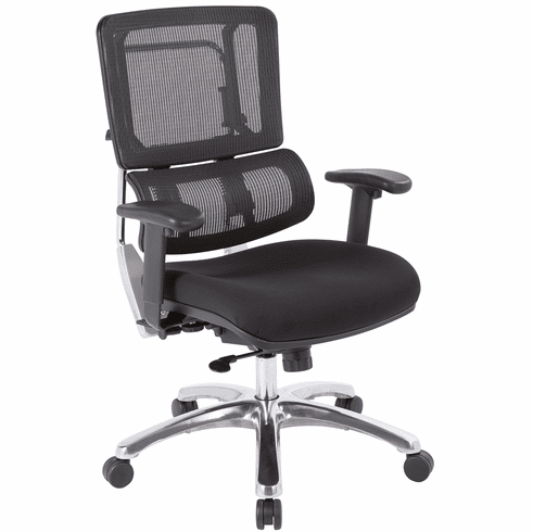Office Star Pro-Line II™ Vertical Black Mesh Back Chair [99662C-30]