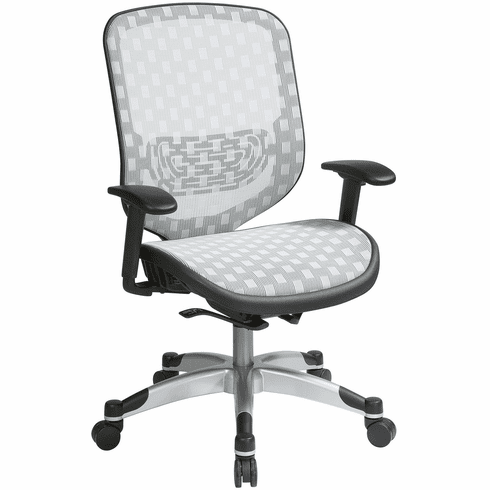 Office Star Space Seating® Office Chair White DuraFlex Flow Through Technology™ [829-R11C628P]