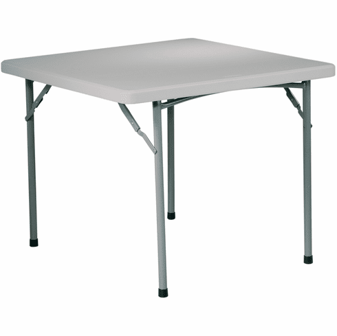 "Office Star Work Smart™ 36"" Square Resin Table [BT36]"