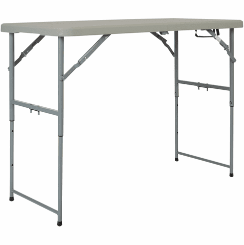 Office Star Work Smart™ 4' Height Adjustable Table Folding Resin [BT04FA]
