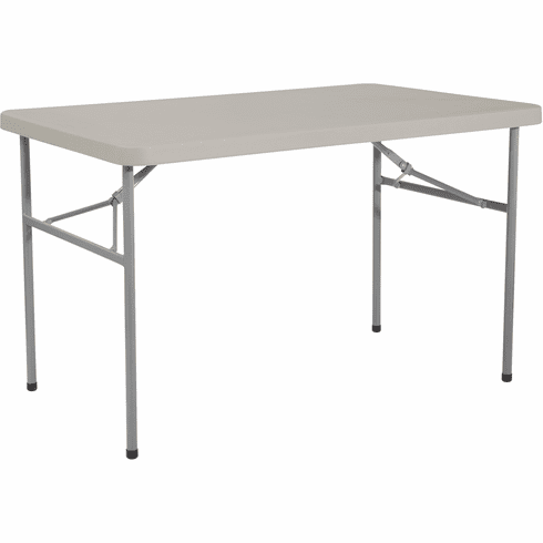 Office Star Work Smart™ 4' Resin Multi Purpose Folding Table [BT04W]