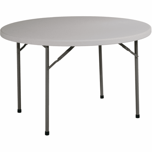 "Office Star Work Smart™ 48"" Round Resin Multi Purpose Table [BT48Q]"