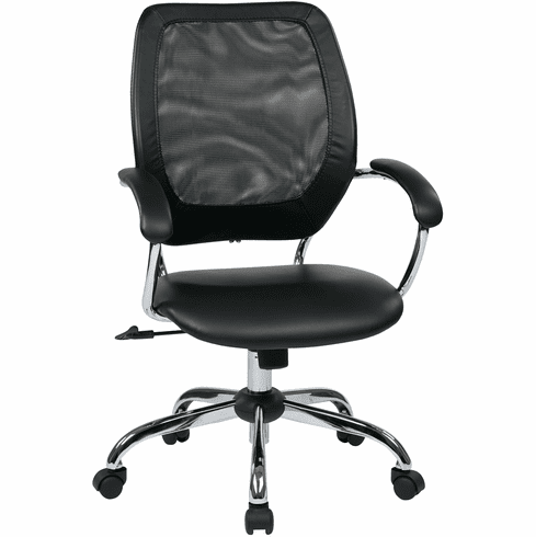 Office Star Work Smart™ Designer Screen Back Managers Chair [EM52022C-U6]