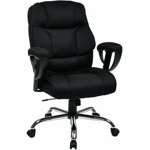 Office Star Work Smart™ Executive Big Mans Chair Mesh Seat / Back [EX1098-3M]