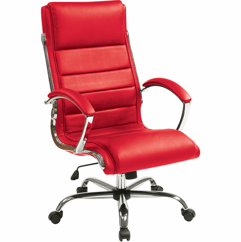 Office Star Work Smart™ Executive Chair Red [FL1327C-U9]