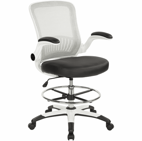Office Star Work Smart™ Mesh Back Drafting Chair [DC6900WH-U6]