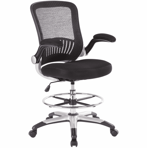Office Star Work Smart™ Mesh Back Drafting Chair [DCY69006-3M]