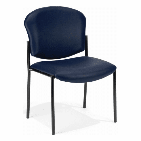 OFM Armless Stacking Chair [408-VAM]