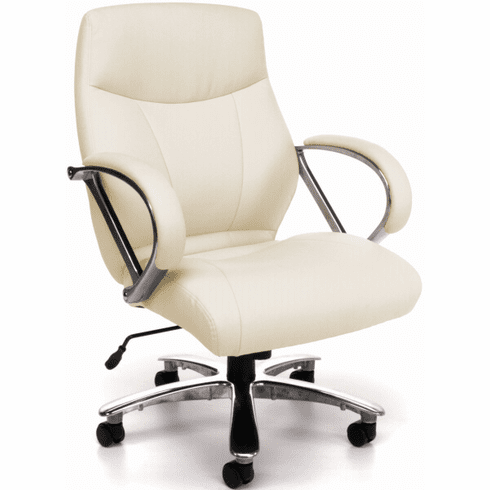 OFM Avenger Mid Back Big and Tall Chair [811-LX-CRM]