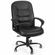 Ofm And Tall Leather Office Chair 800 L