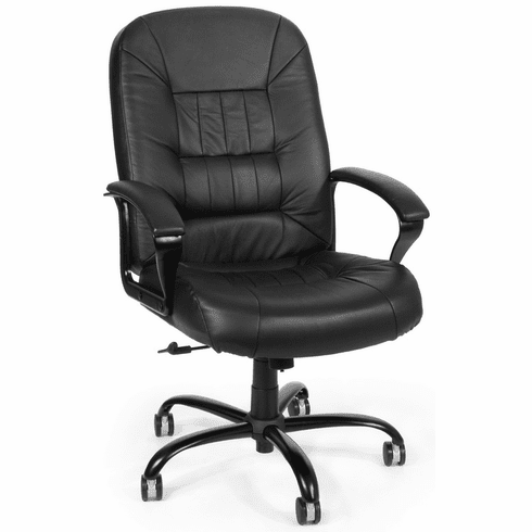 OFM Big and Tall Leather Office Chair [800-L]