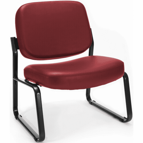 OFM Big and Tall Vinyl Guest Chair [409-VAM]