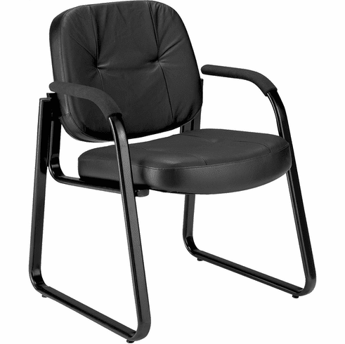 OFM Guest Leather Chair [503-L]