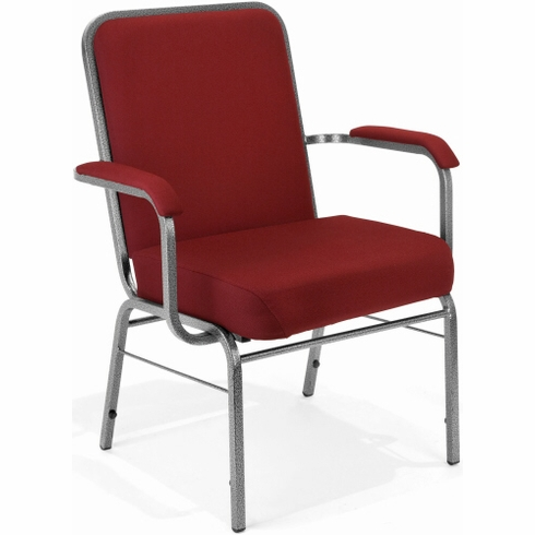OFM Heavy Duty Stacking Chair with Arms [300-XL]