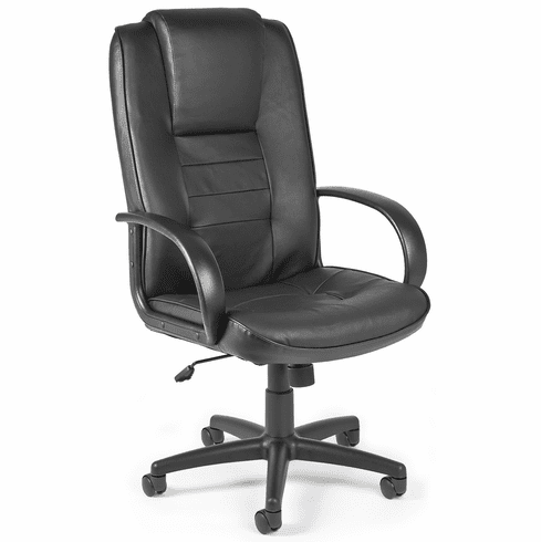 OFM Hi-Back Executive Leather Chair [500-L]