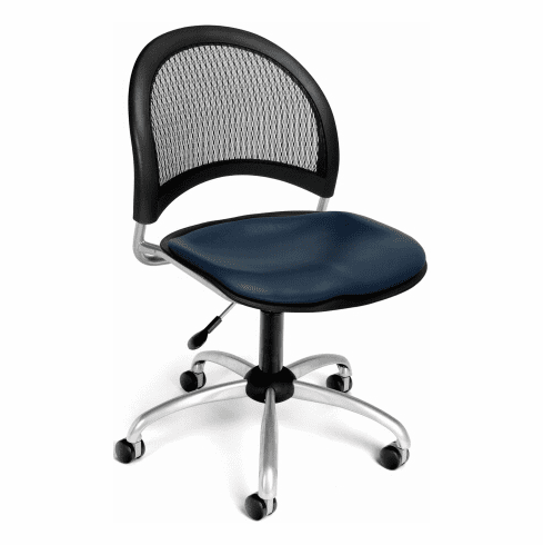 OFM Moon Mesh Back Vinyl Office Chair [336-VAM]