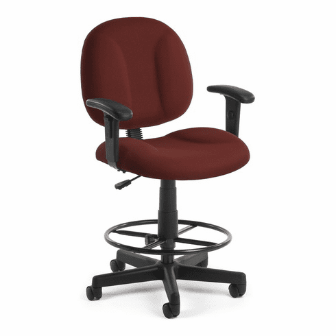 OFM Overstuffed Drafting Stool [105-DK]
