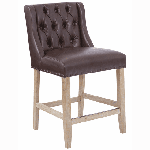 Osp Accents Kate 24 Quot Counter Stool Cocoa Sb521 Bd24