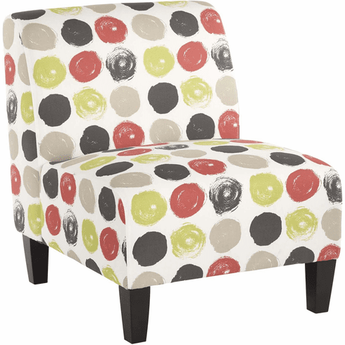 OSP Accents Magnolia Chair Brushed Dot / Poppy [MAG51-R8]