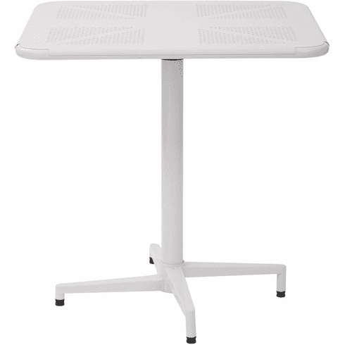 "OSP Designs Albany 30"" Square Folding Table White [ALB43211-11]"