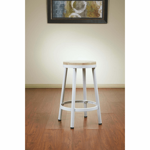 Superb Osp Designs Bristow 26 Metal Backless Barstool White Frame Brw3226 11 Andrewgaddart Wooden Chair Designs For Living Room Andrewgaddartcom