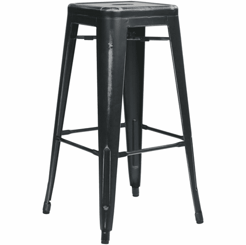 Office Star 30 Quot Metal Stool Antique Black 4 Pack Office