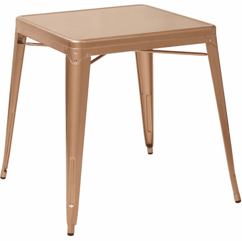 OSP Designs Bristow Antique Metal Table Copper [BRW432-CP]