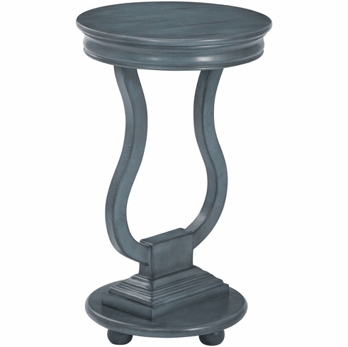 OSP Designs Chase Accent Table Antique Caribbean Blue [OP-CHAS1-YM21]