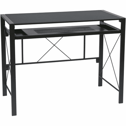 OSP Designs Creston Desk Black [CRS25-3]