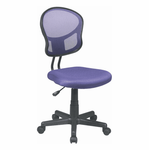 OSP Designs Fun Colors Pneumatic Mesh Task Chair [EM39800]