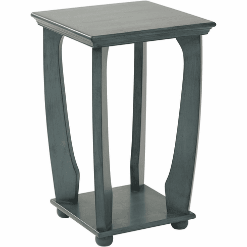 OSP Designs Mila Square Accent Table Caribbean Blue [OP-MLAS1-YM21]