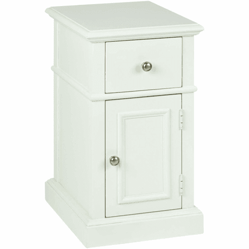 OSP Designs Oxford Side Table in Cream [OXF08AS-CM]