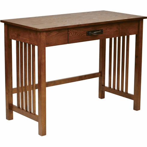 OSP Designs Sierra Writing Desk Oak with Pull out Drawer [SRA25-AH]