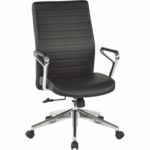 OSP Furniture® Black Bonded Leather Manager's Chair [518317HA-EC3]