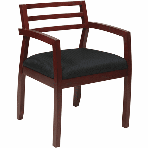 OSP Furniture® Napa Cherry Guest Chair Wood Back [NAP91CHY-3]