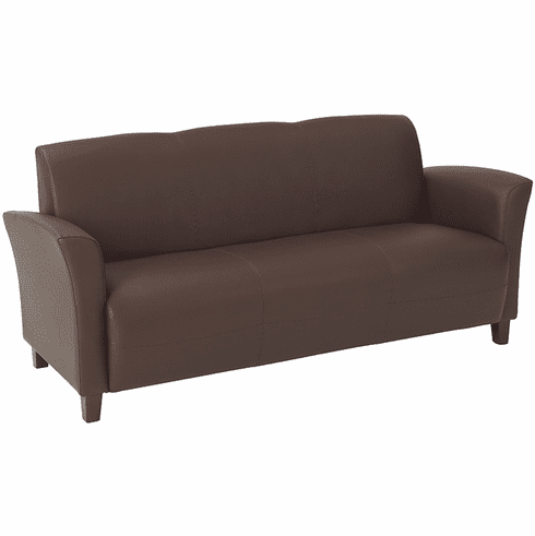 OSP Furniture® Wine Eco Leather Lounge Sofa [SL2273]