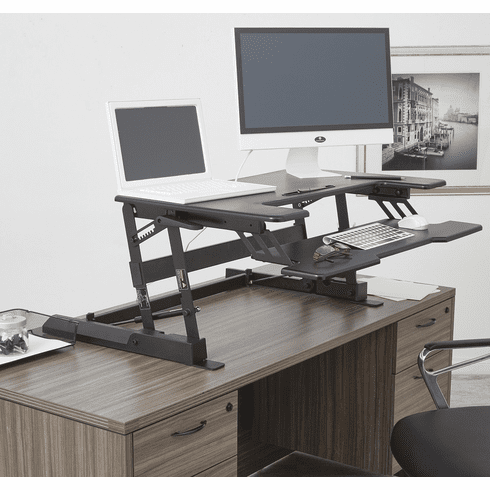 Osp Multiposition Sit Stand Desk Riser With Dual Lift Dr3622