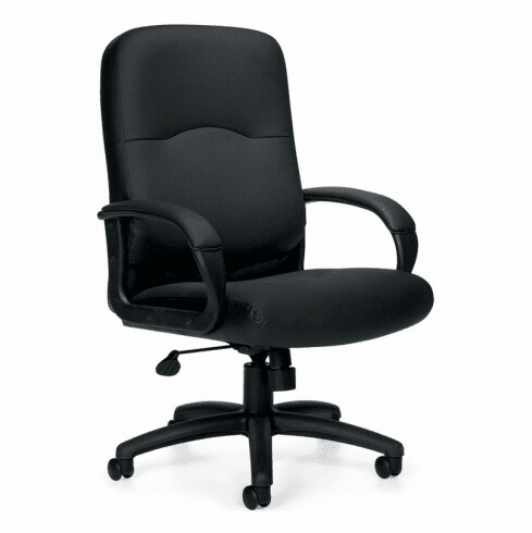 OTG™ Executive Luxhide Leather Chair [OTG11617B]