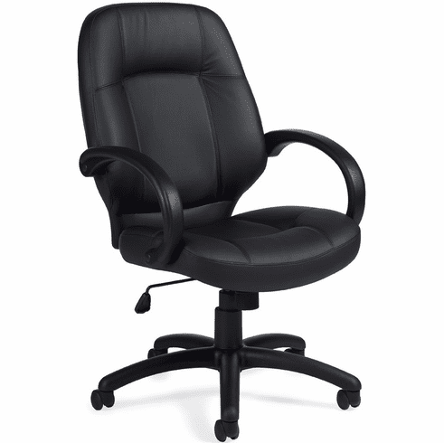 OTG™ Luxhide Leather High Back Office Chair [OTG2788]