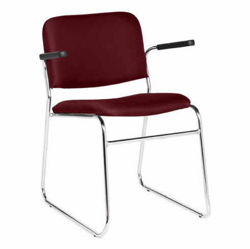OTG™ Padded Stack Chairs with Sled Base [OTG11696]
