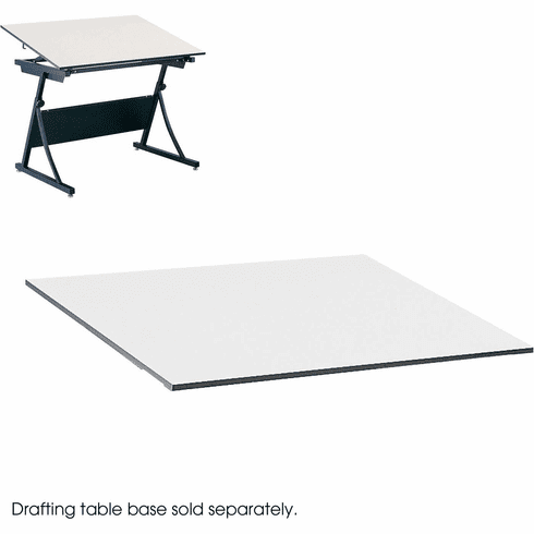 "PlanMaster Height-Adjustable Drafting Tabletop 60 x 37 1 / 2"" White [3948]"